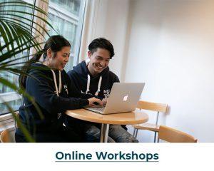 Online Workshop Button